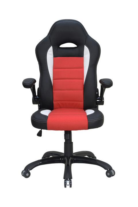 irodai szék görgős piros